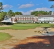 The historic Inn overlooks the 18th green of Mid Pines Golf Club in Southern Pines, N.C.