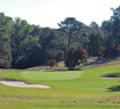 The Sandhills terrain gently rises and falls at Donald Ross' classic Pine Needles Lodge & Golf Club.