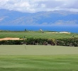 The scenery around par-5 Kapalua's Plantation Course can be somewhat distracting to the task at hand.