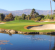 Water features, pristine conditions and great mountain scenery are the themes for the Celebrity Course at Indian Wells Golf Resort.
