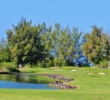 The 13th hole is the second short risk-reward par 4 on the Kings' Course at Waikoloa Beach Resort.
