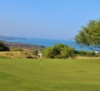 The Pacific Ocean fills up the horizon from many of Hapuna Golf Course's holes.