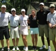 The Golf Channel team (from left: Matt Ginella, Gary Williams, Paige Mackenzie, Stephanie Kenoyer, Damon Hack and Rex Hoggard), love Winter Park C.C. for casual rounds of golf.