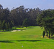 Presidio Golf Course starts out with a par 4, and it's not the easiest tee shot in San Francisco.