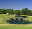 Nos. 11-13 at Augusta National are replicated at Tour 18 Houston, right down to the stone bridges.
