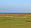 A large seawall along the shore blocks many of the water views at Royal Cinque Ports Golf Club, but it's necessary to protect the course from flooding.