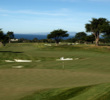 Early on, you get great views of the ocean from the first green at Black Horse.