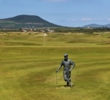 Waterville Golf Links pays tribute to Payne Stewart with a statue near the clubhouse.