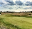 The 10th hole at Royal Birkdale is a 408-yard par 4.