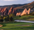 In a state park along the foothills of the Rocky Mountains, Arrowhead Golf Club has a dazzling setting.