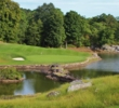 "The 10th hole, named ""The Lake,"" is one of the many scenic holes at Sleepy Hollow Country Club."