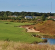 The par-5 15th hole is the most scenic tee shot at Tallgrass Golf Course on Long Island.