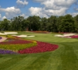 "SentryWorld's famous 16th hole, the ""flower"" hole, was mostly left intact during the redesign."