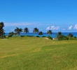 There isn't a prettier hole in Jamaica than no. 5 at Cinnamon Hill Golf Course.