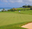 Ocean views and pristine conditions best describe one of Kauai's best golf courses: Makai Golf Club at Princeville.
