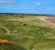 The view off of the elevated ninth tee at Cruden Bay Golf Club is simply fantastic.