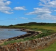 The par-5 12th hole at Kingsbarns Golf Links makes its bid as the most beautiful hole in Scotland.