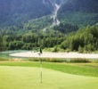 The Green River runs along the 5th hole of Big Sky Golf & Country Club, north of Whistler in Pemberton.