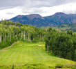 There are no shortage of views at Telluride Golf Club, such as on the elevated fourth tee.