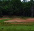 The third hole introduces the sandy section of Hemlock Golf Club in Ludington, Michigan.