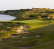 No. 3 on the Straits Course at Whistling Straits is one of many with vistas out into Lake Michigan.