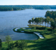 With six golf courses (including the Great Waters Course, pictured here), Reynolds Lake Oconee is a great golf getaway.