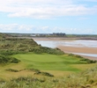 The new par-3 14th hole at Trump International Golf Links Doonbeg isn't as dramatic as the old hole lost during a storm, although it's probably more scenic.