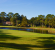 Lots of water and doglegs combined with smallish greens make the Arthur Hills Course at Palmetto Dunes a tough test.