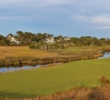 Even the holes off the beach -- like no. 13 -- are beautiful on the Ocean Course at Kiawah Island Golf Resort.