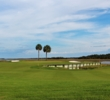 The 18th green of the Oak Point Course at Kiawah Island Golf Resort sits right on the Kiawah River.