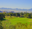 The city of Phoenix comes into view from the tee of the par-4 17th on the Links Course at Arizona Biltmore Golf Club.