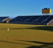 The Old Course at St. Andrews hosted the 2015 Open Championship, won by Zach Johnson.