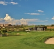 At 471 meters, the 18th hole is by far the longest and hardest par 4 at The Club at Steyn City golf course.