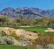 "The gorgeous par-3 eight hole on the Raptor Course at Grayhawk Golf Club is called ""Aces & Eights."""