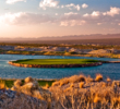 Fifty-four-hole Las Vegas Paiute Golf Resort is a Sin City favorite, with three Pete Dye designs on a Native American reservation.