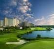 Always in excellent condition, the ever-playable Shingle Creek Golf Club is just a couple minutes from the Orange County Convention Center and International Drive in Orlando.
