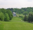 Many holes at Latrobe Country Club fall down or climb back up the natural rolling hillsides in rural Pennsylvania.
