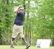 Among the participants in the World's Largest Golf Outing is Dale Beatty, an Iraq War vet, Purple Heart recipient, proud father, double amputee and avid golfer.