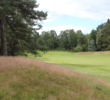 "The Rosemount Course at The Blairgowrie Golf Club starts off with ""Black Tree,"" a par 4 framed by long rough and trees."