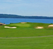 More than half the holes on Samoset Resort's golf course have ocean views, including the par-5 fourth.