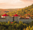 It doesn't get much more spectacular than the Omni Mount Washington Resort with New Hamphire's White Mountains in the backdrop during the fall.