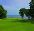 Along with the par-4 fourth, the par-5 14th is also a signature hole at Samoset Resort in Rockport, Maine.