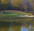 Bear's Best Atlanta is a collection of Jack Nicklaus' favorite holes, which includes the par-3 sixth, a copy of the famous 12th at Muirfield Village. That hole, of course, was inspired by the 12th at Augusta National.