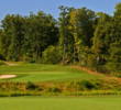 The second hole at Potomac Shores Golf Club in Virginia is a 405-yard par 4 that takes advantage of the natural surroundings.