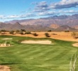 The first hole at Verde River Golf & Social Club is a neat, short par 4 with an elevated green.
