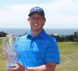 Want to go for some hardware in 2017? Try competing in a top amateur golf tournament like a Golf Channel Am Tour major championship. (Pictured is 2016 Northern California Championship major winner Carl Lekavich.)
