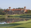 The marvelous clubhouse at TPC Sawgrass elevates the experience at the Dye's Valley and PLAYERS Stadium Course.