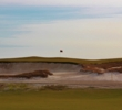 This side view of the fifth hole from the fourth fairway is one many great scenic moments on Streamsong Black.