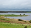 Rory McIlroy drove the par-4 seventh green at Lough Erne Resort.