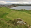 The first green at the Ardglass Golf Club.